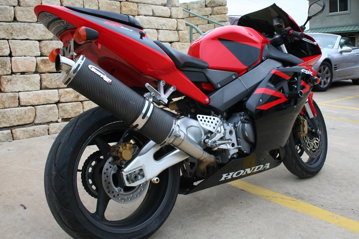 2002 Honda CBR 954 Sold